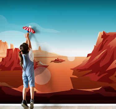 Decore su hogar con un aspecto de lujo con nuestro mural infantil impreso de alta calidad. Es original, duradero y fácil de aplicar.