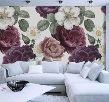 Ici, nous avons une excellente solution: notre incroyable stickers papier peint floral. Achetez-le en ligne et recevez-le en quelques jours chez vous!