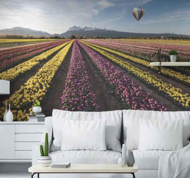 Posiziona questo prodotto murale con paesaggio floreale in qualsiasi stanza della tua casa oggi e lasciati stupire dalla qualità del suo design!