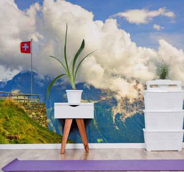 Você ama a suíça, você ama paisagens, é uma das cidades com mais belas paisagens e agora você pode tê-la na sua sala