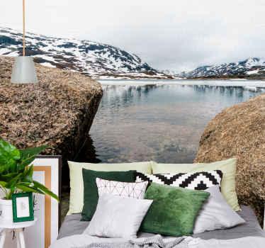 Radi imate norveško, obožujete pokrajine, je eno najlepših krajinskih mest in zdaj ga lahko imate v svoji dnevni sobi