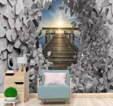 This Teenage wall mural is very easy to clean and easy to apply. Buy it now! Home Delivery!