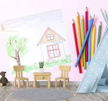 флаг на кирпичах нестандартной росписи. пришлите нам рисунок или изображение, которое вы хотите, фон имеет множество красочных карандашей для рисования. Экспресс-доставка!