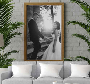 Poster frames custom murals. This design contains any image you want and puts it in a frame for you to enjoy on any of your walls.