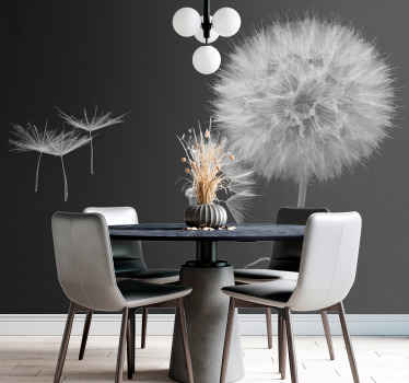 Looking to refurbish your space with an exotic and classy touch? our original and high quality dandelion wall mural is here for you.