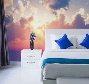 This pretty beautiful clouds wallmural product will surely bring your room so much more light! Make this original design yours now!