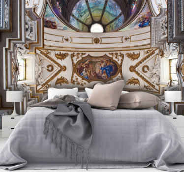This decorative awesome vintage art wallmural product has a very unique and cool design that is sure to give your house more energy! Order this now!