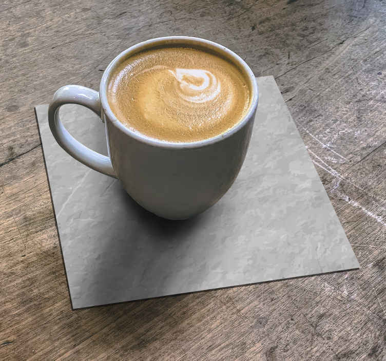 TenStickers. Stone effect drink coaster. Stone effect drink coaster design for home and restaurant drink service. Best quality product with resistant ability. Easy to clean and store.
