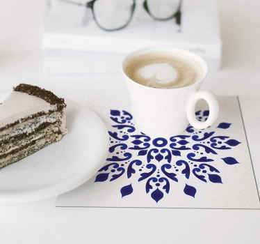 You want a chic and subtle addition for your home decorations? This classic tile coaster will fit into your home wonderfully.