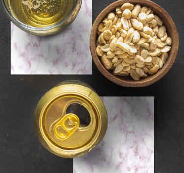 Textura de mármore natural coaster produtode bebida que definitivamente adoraria desfrutar de café e chá em uma mesa. é fácil de manter e de qualidade.