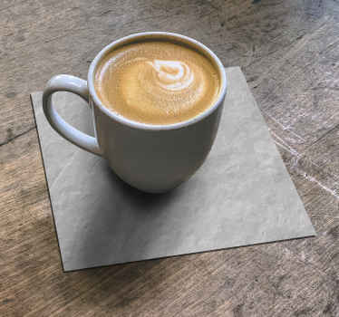 Stone effect drink coaster design for home and restaurant drink service. Best quality product with resistant ability. Easy to clean and store.