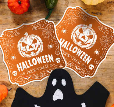 Surprise your friends with our Halloween design for drink coaster as you enjoy serve them drink for Halloween festival party.