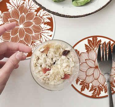 高品質の素材で作られた私たちのオリジナルのドリンクコースターで家族の食事のためのダイニングテーブルを飾ります。メンテナンスが簡単です。