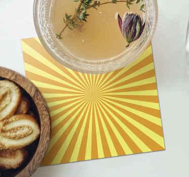 Laissez ce produit donner un look unique à votre table avec ce dessous de verre orange coucher de soleil abstrait. Commandez votre dessous de verre maintenant! Livraison à domicile!