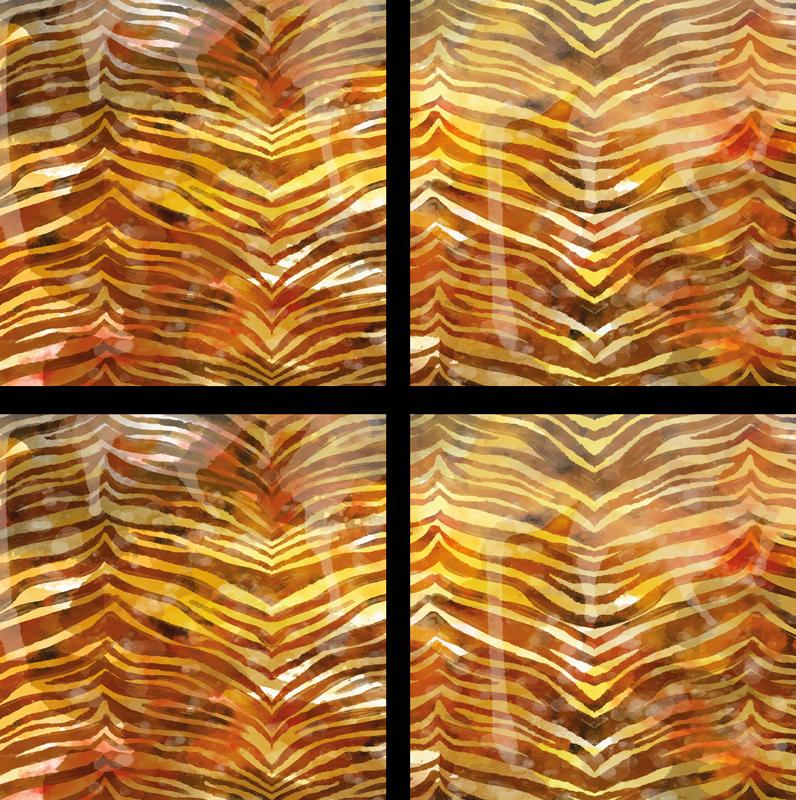 TenStickers. зебра текстура acuarela эффект текстуры каботажное судно. Добавьте яркости своему обеденному столу с этим потрясающим набором салфеток с принтом зебры! он состоит из набора салфеток