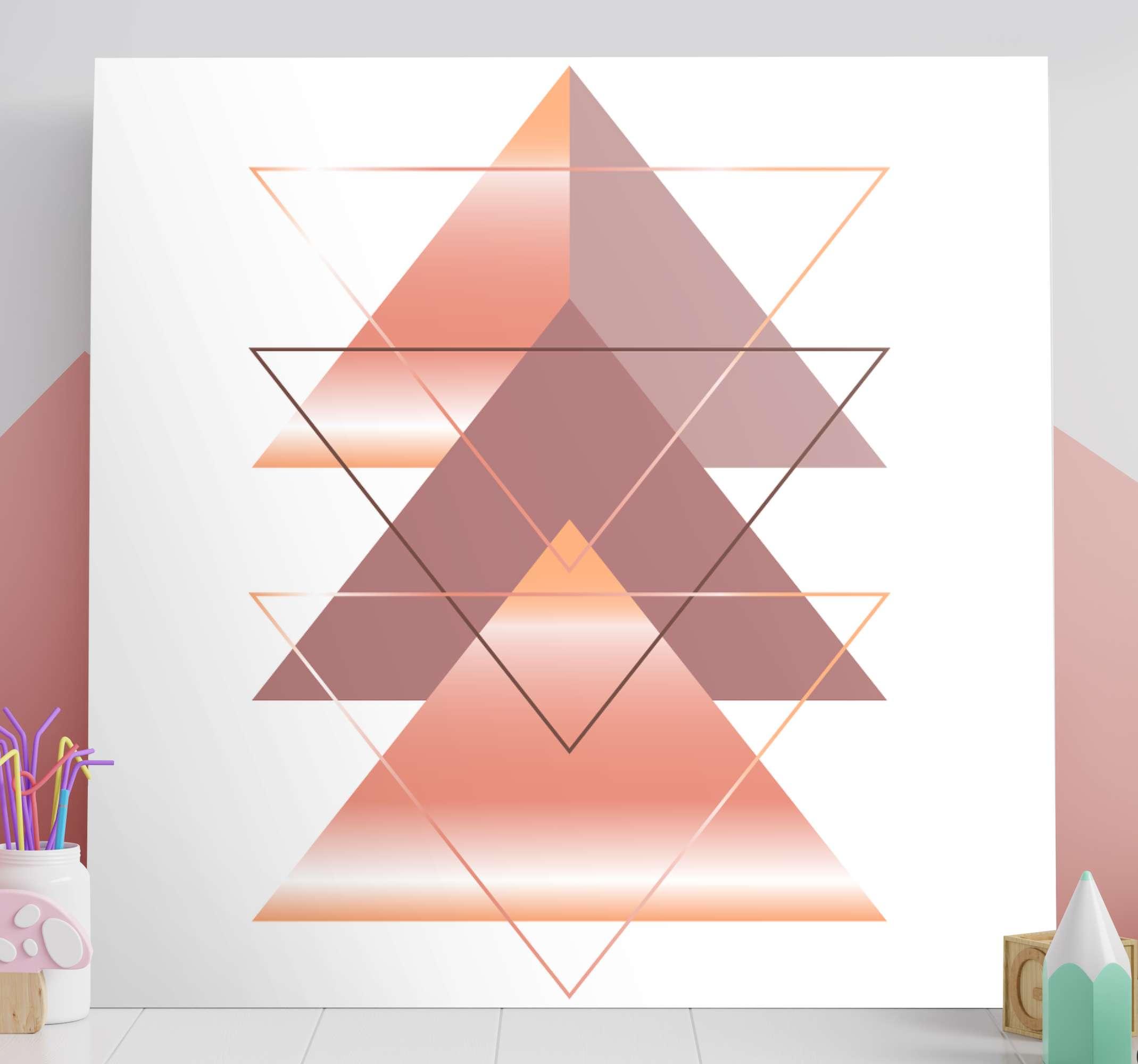 TenStickers. τρίπτυχο σκανδιναβικό καμβά. Triptych nordic art prints για διακόσμηση χώρου γραφείου. μπορείτε να επιλέξετε να διακοσμήσετε τον καμβά σε οποιονδήποτε άλλο χώρο που σας ταιριάζει.