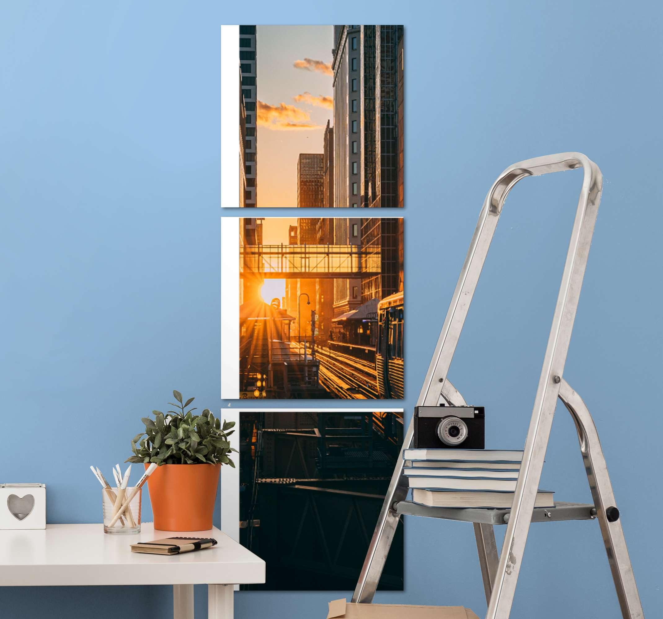 TenStickers. современные пейзажи холст стены искусства. современные городские пейзажи. Прекрасно украсит любое пространство в доме и в офисе. дизайн напечатан в качественной отделке.