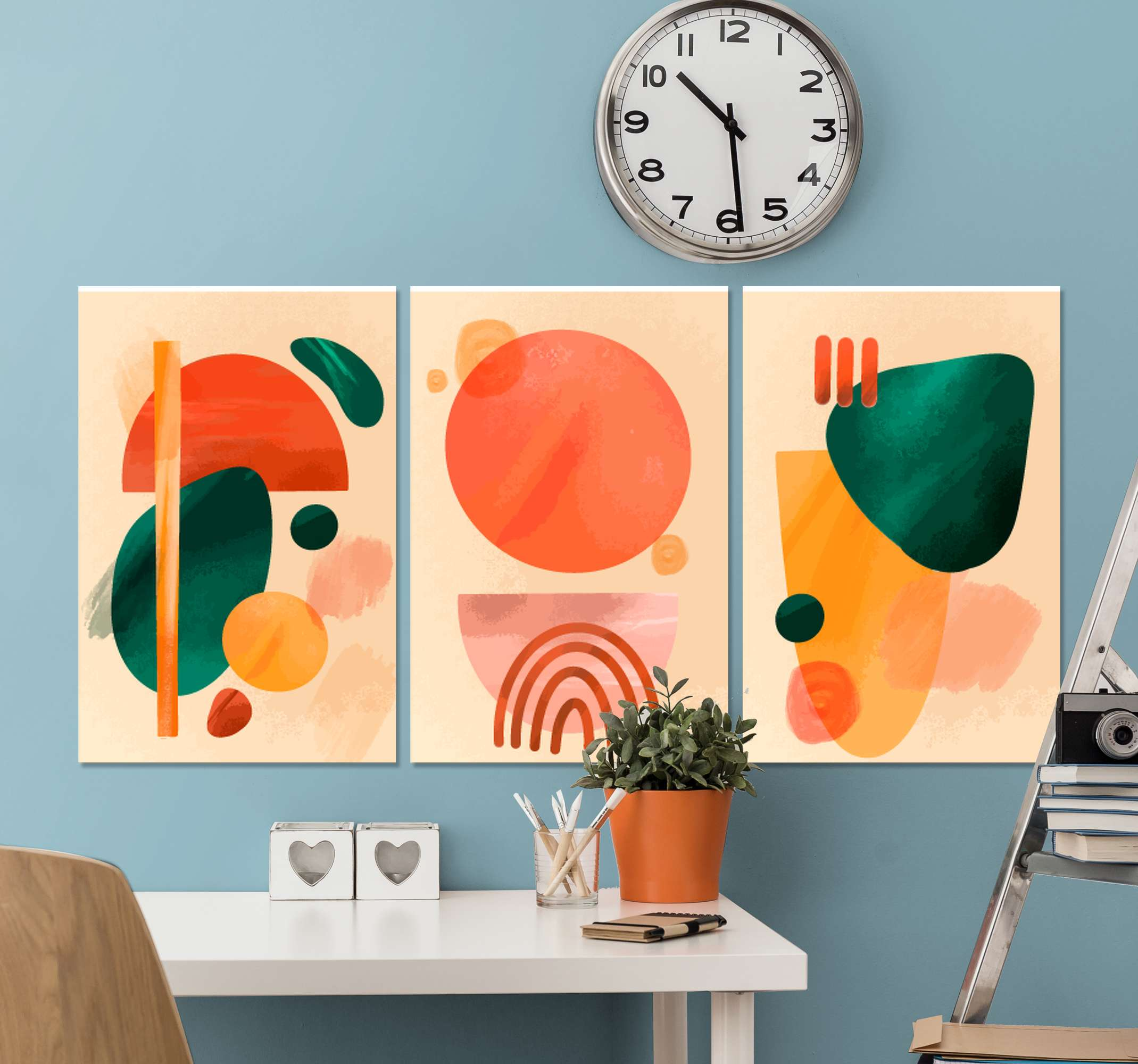 TenStickers. arte abstracto moderno picasso canvas art. Stunning artwork canvas prints that will blow your guests away! Sing up online today to receive 10% off your first order.