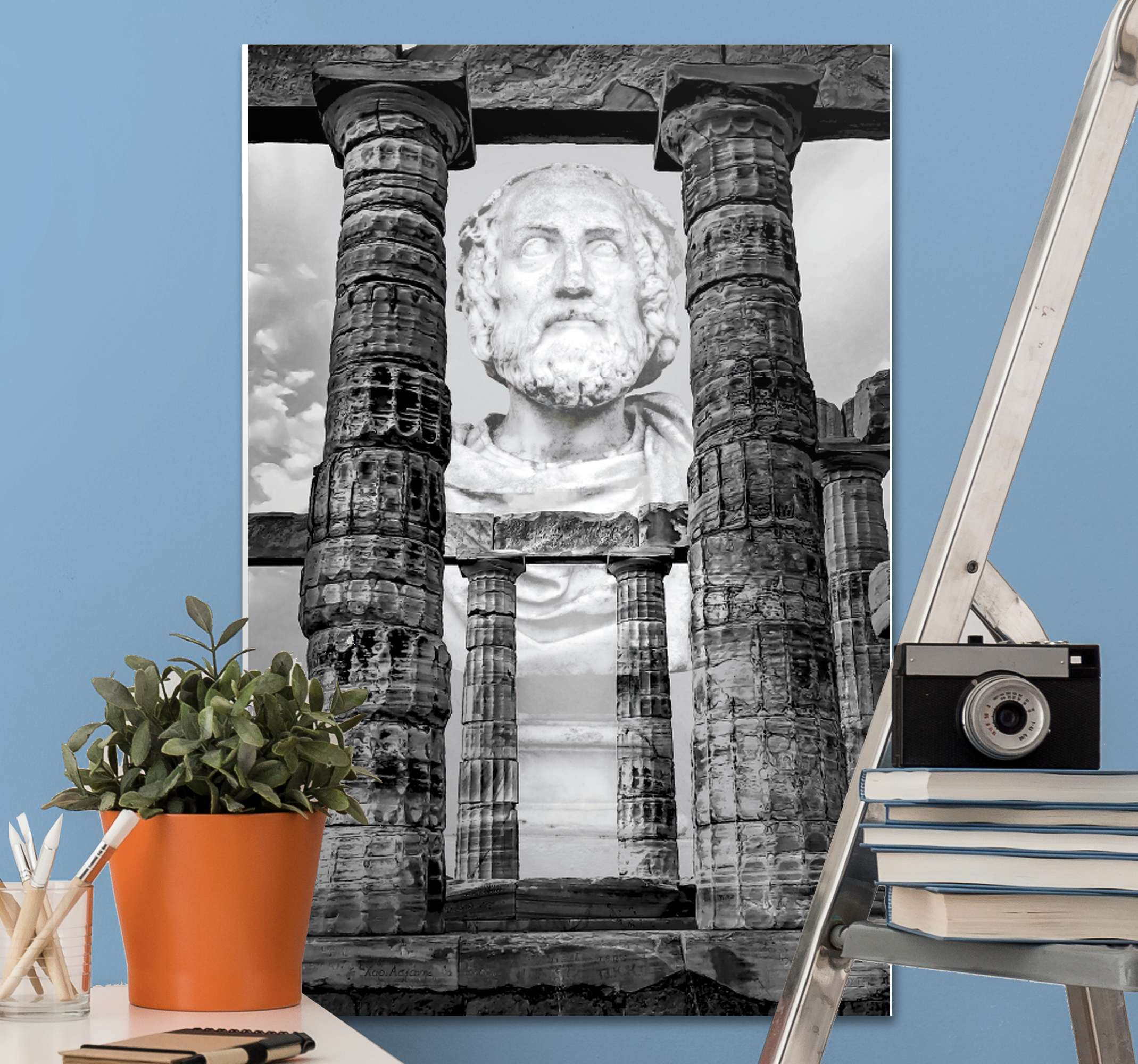 TenStickers. Ancient mythology canvas art. With this ancient mythology canvas art prints, your space would be a little attraction center. Printed in quality finish and durable.