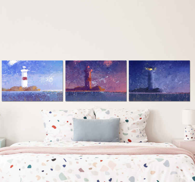 TenStickers. Nautical style canvas wall art. This Canvas art wall can be placed on any room in a house, and transform your space § Don't wait anymore and order now! Home delivery!