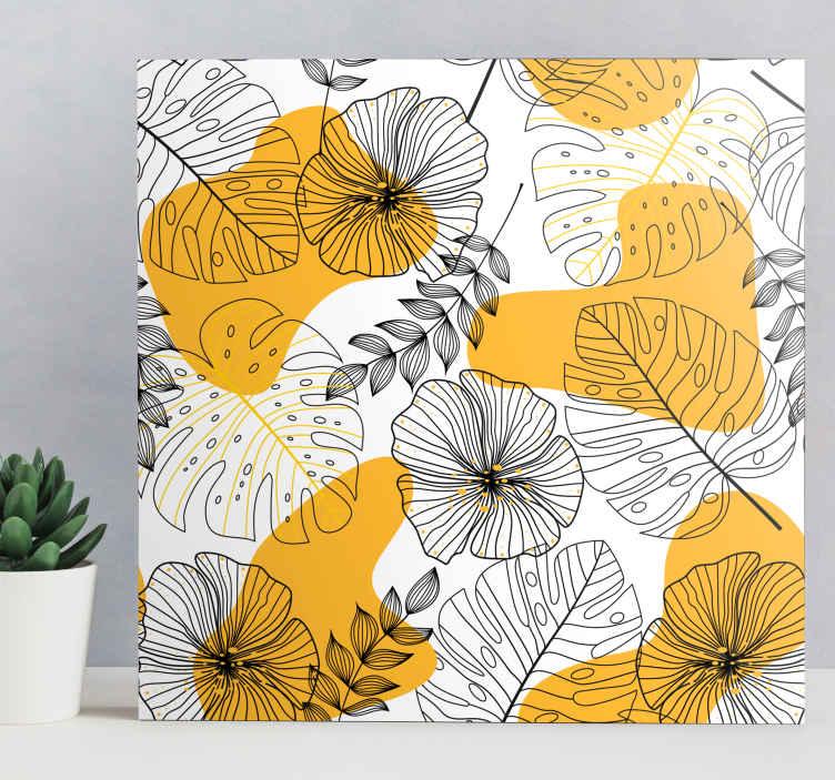 Tenstickers. Estilo nórdico planta trooppinen nordic kangastaulu. Anna ainutlaatuinen tyyli huoneeseesi tällä kotipainatuksella, sinun tarvitsee vain ostaa se nyt ja kaunistaa kotiisi! Kotiinkuljetus!