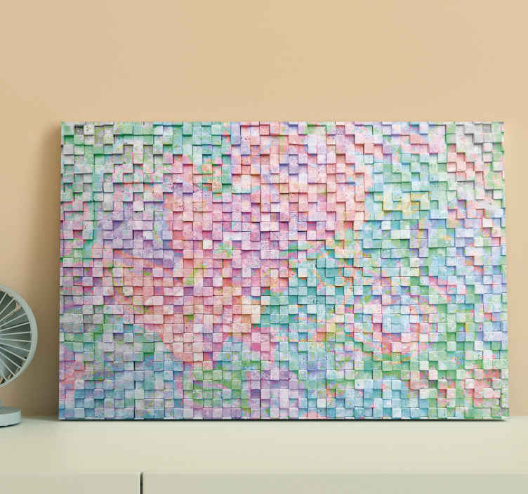 TenStickers. mosaico cuadros colores photo mosaic canvas. Purchase this incredible mosaic canvas print featuring a variety of colours to update your walls today! Discounts available.