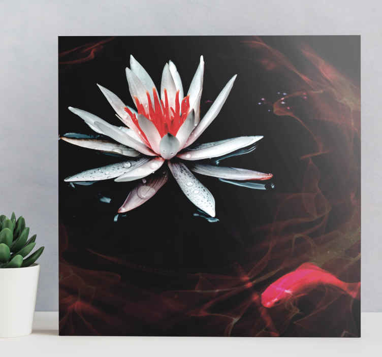TenStickers. Zen style zen canvas wall art. A Zen style canvas wall art for your home decoration. A canvas to make your home looking unique with an elegant touch. Printed in quality finish.