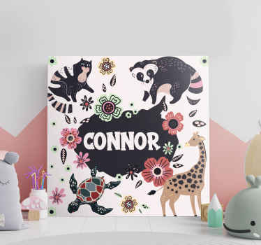 Decorate you home with this sunning customisable animal wall art canvas! With +10,000 satisfied customers we're here to help.
