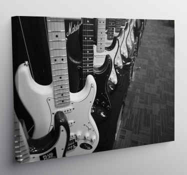 Wake up the rocker who sleeps in you with this music canvas art, you will give a unique style to your room with this impression of musical note!