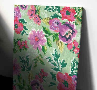 Bu çiçek kanvas baskısını çarpıcı bir görünüm için duvarlarınıza uygulayın. +10. 000 memnun müşteri ile emin ellerdesiniz.