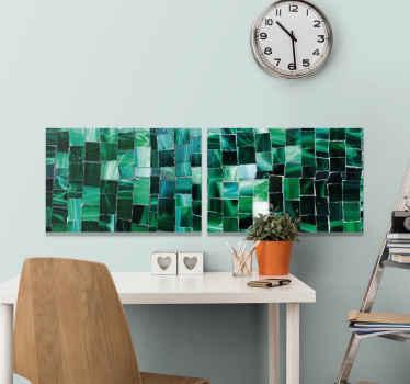 Verwandeln Sie Ihren Raum auf moderne weise mit unseren mosaik-leinwanddrucken. Beeindrucken sie Ihre Familie und Freunde mit diesen produkten! Hauslieferung!