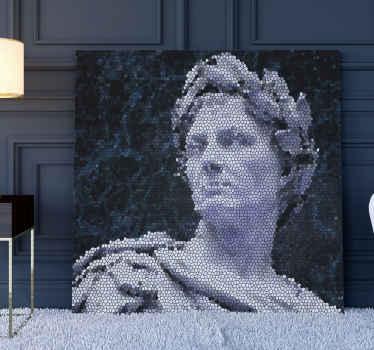 Tauchen Sie mit diesen mosaik-leinwanddrucken in die antike römerzeit ein. Beeindrucken sie Ihre Familie und Freunde! Hauslieferung!