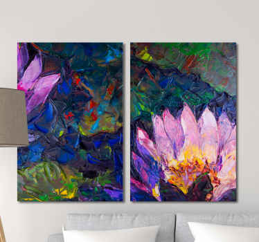 Looking for an original flower canvas for home decoration? then this abstract canvas wall art got you covered. Printed with high quality finish.