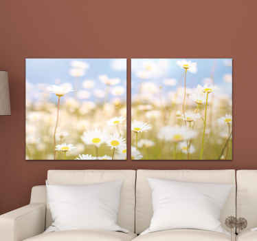 The canvas is printed with high quality finish, it is durable, uv resistant and fade resistant. Order now ! Homr delivery !