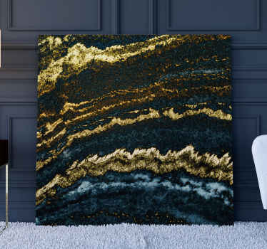 Modern gold 3D canvas prints to complete your home decoration with beautiful touch of abstract.  It is original, durable and printed in quality finish.