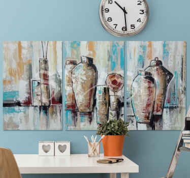 A host of incredible jar canvas prints that will add such great uniqueness to your home. Discounts available today online.