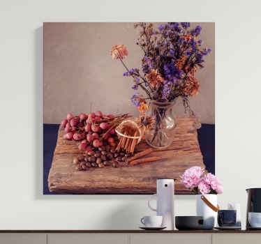 This very realistic floral canvas wall art will add so much character to your home. We have over 10,000 satisfied customers.