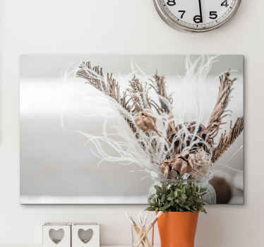 A stunning flower canvas print to modernise your home with! Sing up today to receive 10% off the first order you place with us.