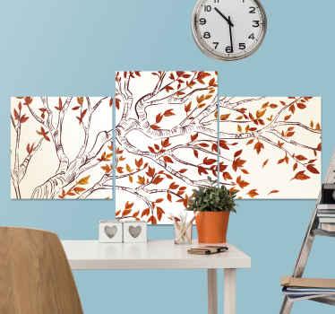 Onze elegante rode boomtak canvas schilder zal uw huis of kantoorruimte opvallen met een heerlijk en comfortabel gevoel. Bedrukt met hoogwaardige afwerking.