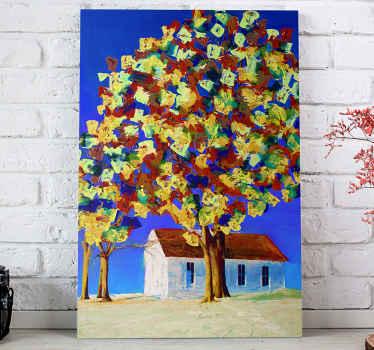 Een geweldig lente boom canvas schilderij van bomen om overal in huis op te hangen. Met meer dan 10. 000 tevreden klanten bent u in goede handen.