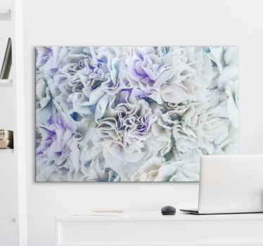 Verbaas uw dierbaren en bezoekers met dit verbazingwekkend mooie besneeuwde witte bos canvas schilder waarvan wij denken dat het geweldig zal staan in uw huis!