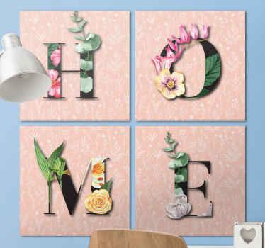 Deze prachtige bloemen home canvas schilderij zal de beste traktatie voor uw huis zijn. Kies uw maat en afwerking voor een geweldig product.