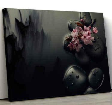 Dit prachtige moderne elegante schilderij op canvas brengt u echte zen. Meld u vandaag nog aan voor 10% korting op uw eerste bestelling bij tenstickers.