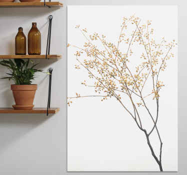 Plant canvas print which features an image of a tree which looks to be in Autumn as it has no leaves. Choose your size now.