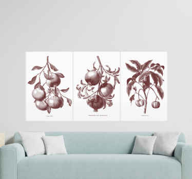 Your home will definitely benefit from the addition of this wonderful tropical floral canvas wall art. Order now! Home  delivery !