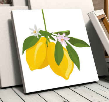 Our collection of citrus fruit canvas art would helps to bring a lovely attention of a citrus tree on your space. Made with quality material.