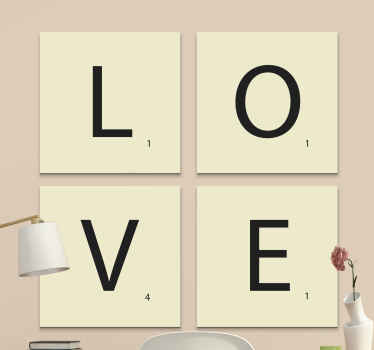 here we have a great solution for you: our alphabet and letter canvas wall art.  All you need to do is just add this product to your cart!