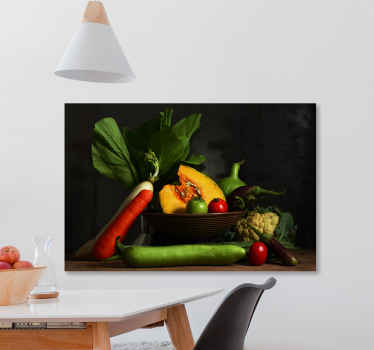 High quality picture printed fruit collection canvas art for your kitchen decoration. Printed in high quality finish and proof to fading.