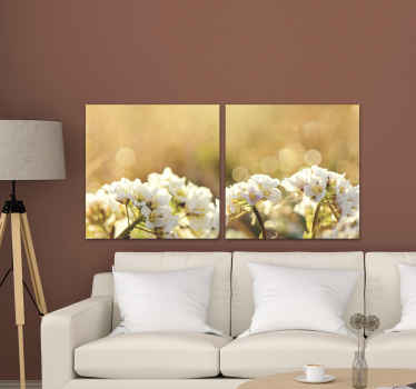 Beautiful white flower picture canvas -  You can decorate this canvas on your home, for office, business, spa and any other space.