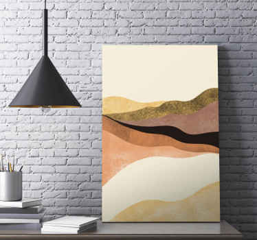 复古绘画办公室的画布印刷品-也可以在家里和其他空间进行装饰。它是原装的,采用优质材料制成。